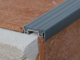 Закладной профиль под плитку Z 35 серый