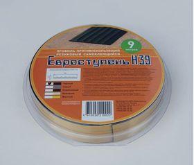 Самоклеящаяся накладка Н39-9 черный