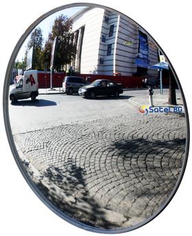 Зеркало дорожное сферическое, универсальное, диаметр 600 мм