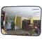 Сферическое зеркало безопасности, антикражное для помещений, прямоугольное размер 600х800 мм